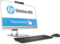 HP EliteOne 800 G3 All-in-One-PC, 23,8 Zoll, GPU, Touch-Funktion (Schwarz, Silber)
