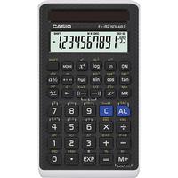 Casio FX-82Solar II Tasche Wissenschaftlicher Taschenrechner Schwarz Taschenrechner (Schwarz)