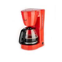 Korona 10117 Freistehend Halbautomatisch Filterkaffeemaschine 1.5l 12Tassen Rot Kaffeemaschine (Rot)