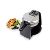 Korona 41002 4Waffel(n) 1080W Schwarz, Edelstahl Waffeleisen (Schwarz, Edelstahl)