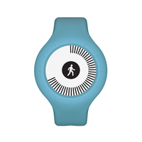 Withings Go Wristband activity tracker E-Tinte Kabellos Blau (Blau)