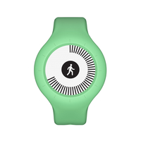 Withings Go Wristband activity tracker E-Tinte Kabellos Grün (Grün)