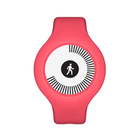 Withings Go Wristband activity tracker E-Tinte Kabellos Rot (Rot)