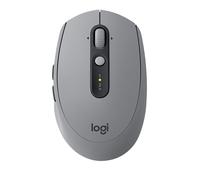 Logitech M590 RF kabellos + Bluetooth Optisch 1000DPI rechts Grau Maus (Grau)