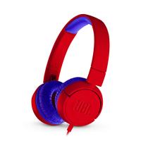 JBL JR300 Blau, Rot ohrumschließend Kopfband Kopfhörer (Blau, Rot)