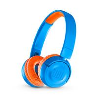 JBL JR300BT Blau, Orange ohrumschließend Kopfband Kopfhörer (Blau, Orange)