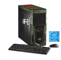 Hyrican Military Gaming 5567 3.5GHz G4560 Schwarz, Grün PC (Schwarz, Grün)