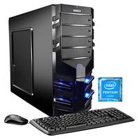 Hyrican Alpha Gaming 5568 3.5GHz G4560 Schwarz PC (Schwarz)