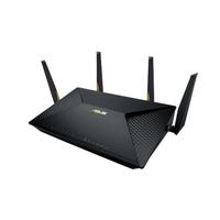 ASUS BRT-AC828 Dual-Band (2,4 GHz/5 GHz) Gigabit Ethernet 3G 4G Schwarz WLAN-Router (Schwarz)