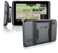 Blaupunkt TravelPilot 65 Tragbar / Fixiert 6.2Zoll Touchscreen 208g Schwarz Navigationssystem (Schwarz)