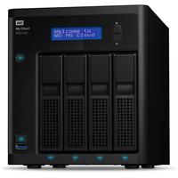 Western Digital PR4100 NAS Desktop Eingebauter Ethernet-Anschluss Schwarz (Schwarz)