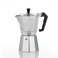 Kela 10591 Freistehend Manuell 6Tassen Aluminium Kaffeemaschine (Aluminium)