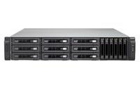 QNAP TVS-1582TU NAS Rack (2U) Eingebauter Ethernet-Anschluss Schwarz (Schwarz)