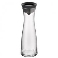 WMF 06.1770.6610 1l Schwarz Karaffe, Krug & Flasche (Schwarz, Transparent)