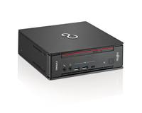 Fujitsu ESPRIMO Q957 2.7GHz i5-7500T 3L Größe PC Schwarz, Rot Mini-PC (Schwarz, Rot)