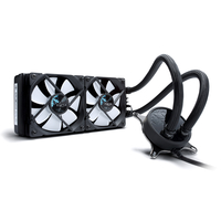 Fractal Design Celsius S24 Prozessor Computer-Kühlmittel (Schwarz, Weiß)