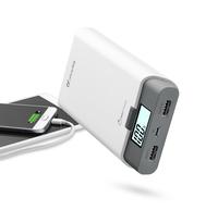 Cellularline FREEP10000W Lithium 10000mAh Grau, Weiß Akkuladegerät (Grau, Weiß)