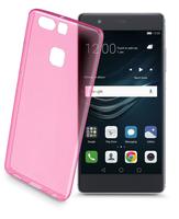 Cellularline Color Case 5.2Zoll Abdeckung Pink,Transparent (Pink, Transparent)