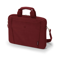Dicota Slim Case Base 13-14.1 14.1Zoll Messengerhülle Rot (Rot)