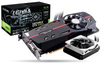 Inno3D C108TB-1SDN-Q6MNX GeForce GTX 1080 TI 11GB GDDR5X Grafikkarte (Schwarz, Rot)
