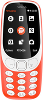 Nokia 3310 2.4Zoll Orange Funktionstelefon (Orange)
