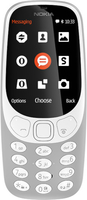 Nokia 3310 2.4Zoll Grau Funktionstelefon (Grau)