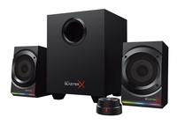 Creative Labs Sound BlasterX Kratos S5 2.1Kanäle 60W Schwarz Lautsprecherset (Schwarz)