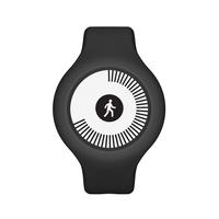 Nokia Go Wristband activity tracker E-Tinte Kabellos Schwarz (Schwarz)