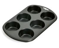 Kaiser 23.0064.6244 Muffin-Backform 1Stück(e) Backform (Schwarz)