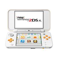 Nintendo New 2DS XL 4.88Zoll Weiß Tragbare Spielkonsole (Orange, Weiß)