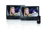 Lenco MES-405 Portable DVD player Tisch 9Zoll 480 x 234Pixel Schwarz Tragbarer DVD-/Blu-Ray-Player (Schwarz)