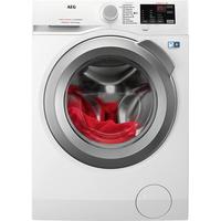 AEG L6FB55480 Freistehend Frontlader 8kg 1400RPM A+++ Weiß Waschmaschine (Weiß)