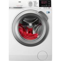 AEG L6FB67490 Freistehend Frontlader 9kg 1400RPM A+++ Weiß Waschmaschine (Weiß)