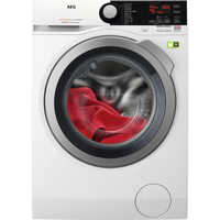AEG L8FB74484W Freistehend Frontlader 8kg 1400RPM A+++ Weiß Waschmaschine (Weiß)