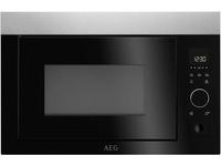 AEG MBE2657S-M Eingebaut Solo-Mikrowelle 26l 900W Schwarz, Grau (Schwarz, Grau)