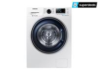 Samsung WW5000 Freistehend Frontlader 8kg 1400RPM A+++ Weiß Waschmaschine (Weiß)