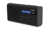 Kärcher DAB 2405 Persönlich Analog & digital Schwarz Radio (Schwarz)
