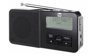 Dual DAB Pocket Radio 5 Tragbar Analog & digital Schwarz Radio (Schwarz)