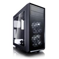 Fractal Design Focus G Tower Schwarz Computer-Gehäuse (Schwarz)