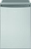 Bomann KS 2184 Freistehend 119l A++ Edelstahl Kühlschrank mit Gefrierfach (Edelstahl)