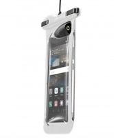 Cellularline VOYAGERMUSIC17W Beuteltasche Transparent Handy-Schutzhülle (Transparent)