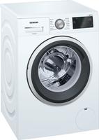Siemens iQ500 WM14T6A2 Freistehend Frontlader 8kg 1400RPM A+++-30% Weiß Waschmaschine (Weiß)