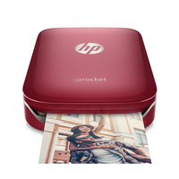 HP Sprocket ZINK (Zero ink) 313 x 400DPI Fotodrucker (Rot)