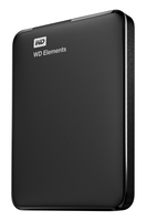 Western Digital WD Elements Portable 4000GB Schwarz Externe Festplatte (Schwarz)