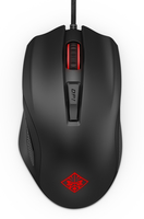 HP 600 USB Optisch 12000DPI rechts Schwarz, Rot Maus (Schwarz, Rot)