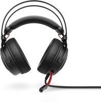 HP Omen 800 Binaural Kopfband Schwarz, Rot Headset (Schwarz, Rot)