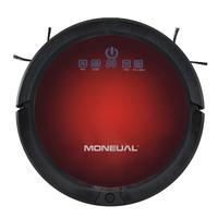 Moneual ME485 0.5l Schwarz, Rot Roboter-Staubsauger (Schwarz, Rot)
