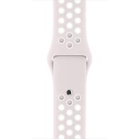 Apple 38 mm Nike Sportarmband, Helles Violett/Weiß (Violett, Weiß)