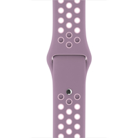 Apple 38 mm Nike Sportarmband, Violet Dust/Plum Fog (Violett)