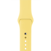 Apple 42 mm Sportarmband, Zitronengelb (Gelb)